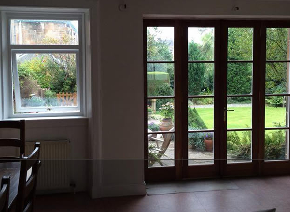 Edinburghs Premium Wooden Glazed French Doors Illingworth Brothers