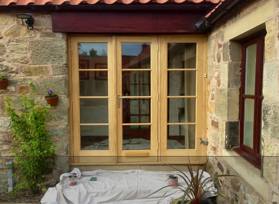 Edinburghs Premium Wooden Glazed French Doors Illingworth Brothers