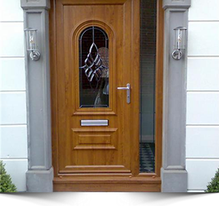 brown upvc front door upvc doors rhino building